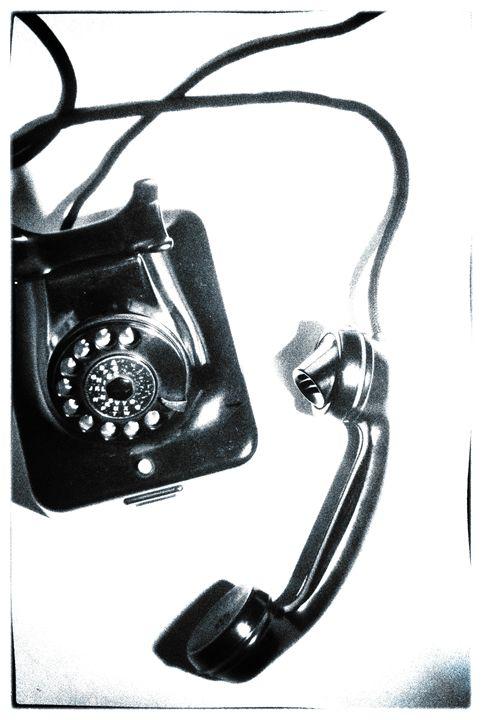 1930s telephone - david ridley