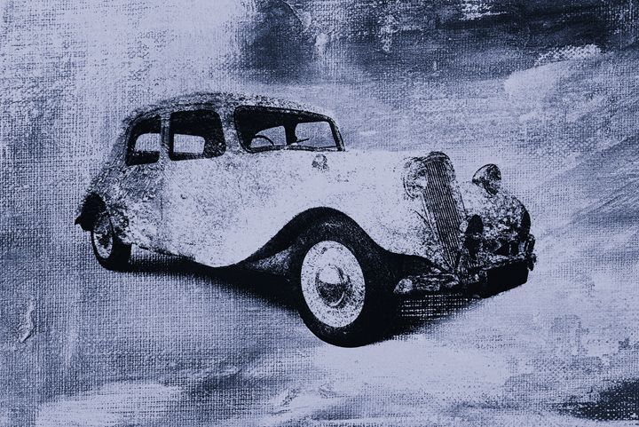 vintage car - david ridley