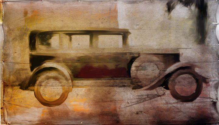 vintage buick - david ridley
