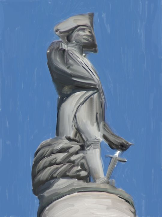 nelson column - david ridley