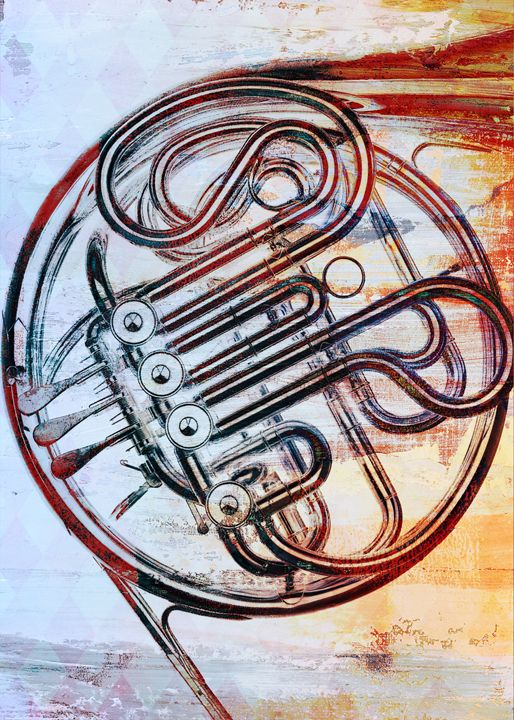 french horn - david ridley