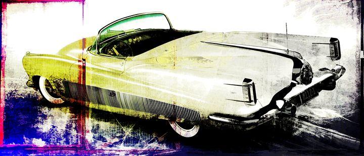 grunge retro car - david ridley