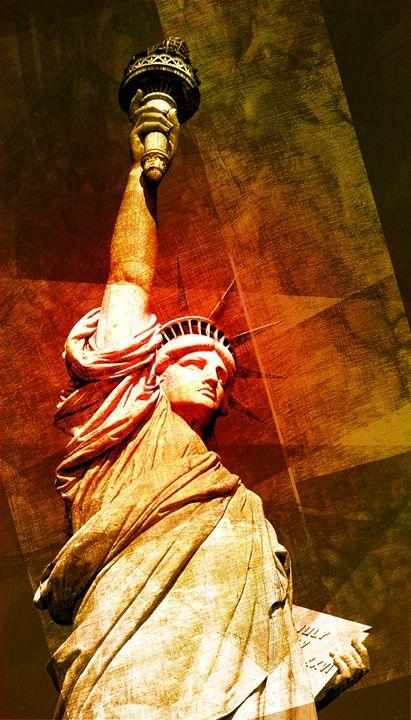 statue of liberty - david ridley