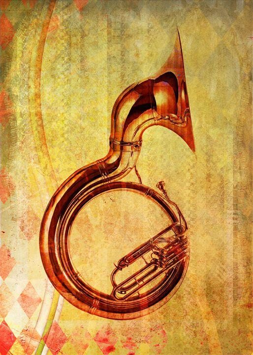 brass tuba - david ridley