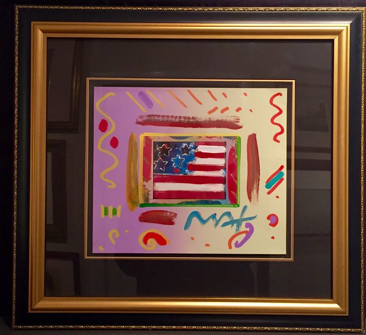 Flag with Heart - Acquisitions of Fine Art