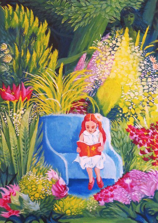 The garden - Franco Zanichelli