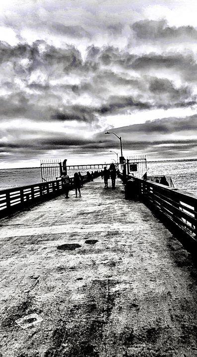 Ocean Beach boardwalk - Blairbie Photographie