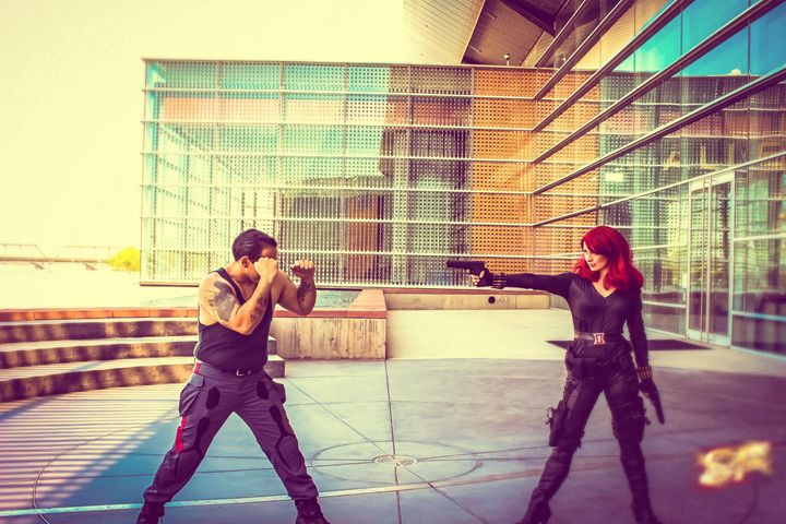 Black Widow Fight - Speed Force Photography