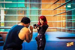 Black Widow Fight Scene 2