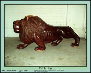 Purple King (Lion)