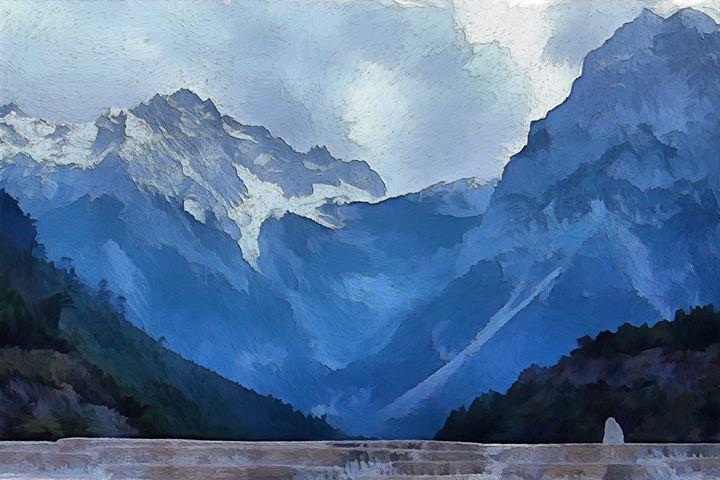 """Beyond Jade Dragon Mountain"" - Bigan Fanli"