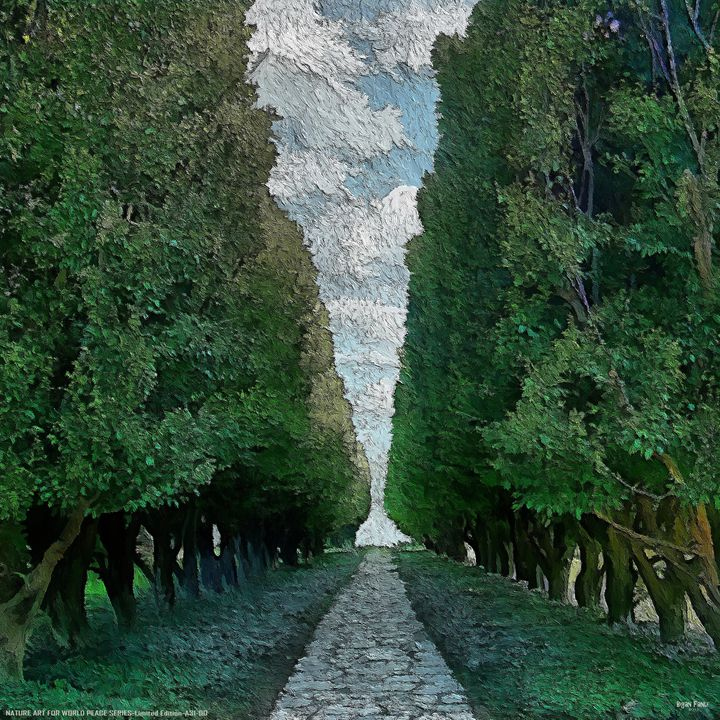 """Beyond Tree Rows"" - Bigan Fanli"