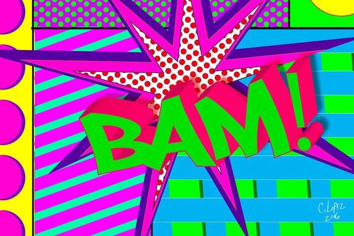 Bam - Chris Lopez Art