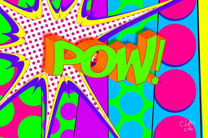Pow - Chris Lopez Art