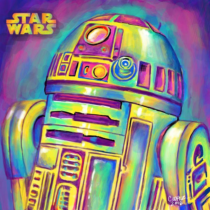 R2D2 - Chris Lopez Art