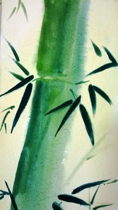 bamboo leaf - Subhendu Ghosh