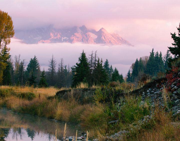 Teton Fog - Roy Breslawski Nature Photography