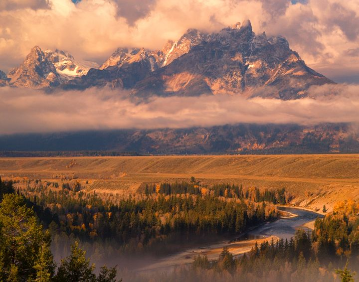 Teton Overlook - Roy Breslawski Nature Photography