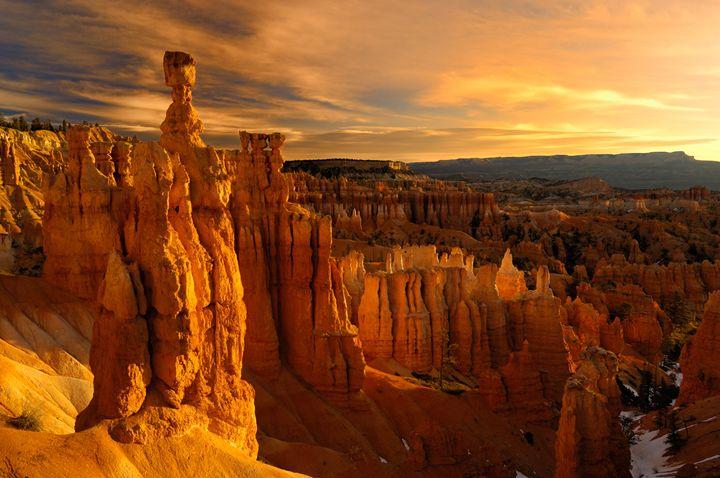 Thors Hammer Sunrise - Roy Breslawski Nature Photography