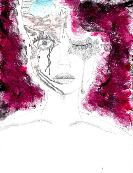 Exotic face structure - Adriana's Art