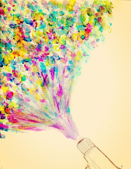 Colorful bullet - Adriana's Art