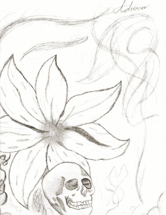 Death flower - Adriana's Art