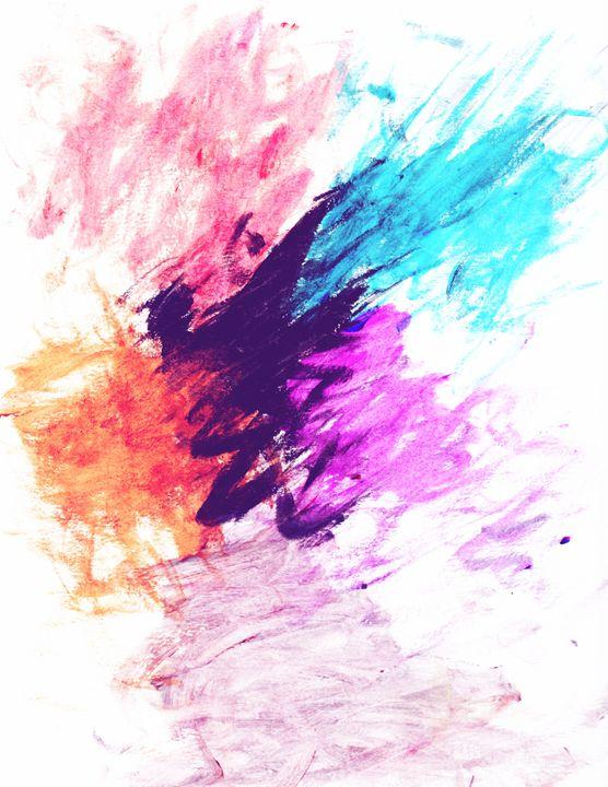 Color explosion - Adriana's Art
