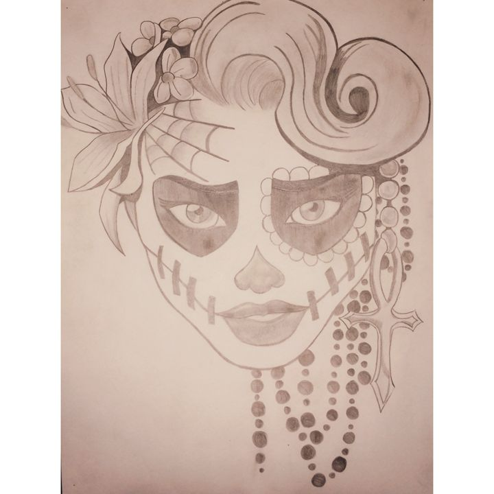 Day of the Dead - Adriana's Art