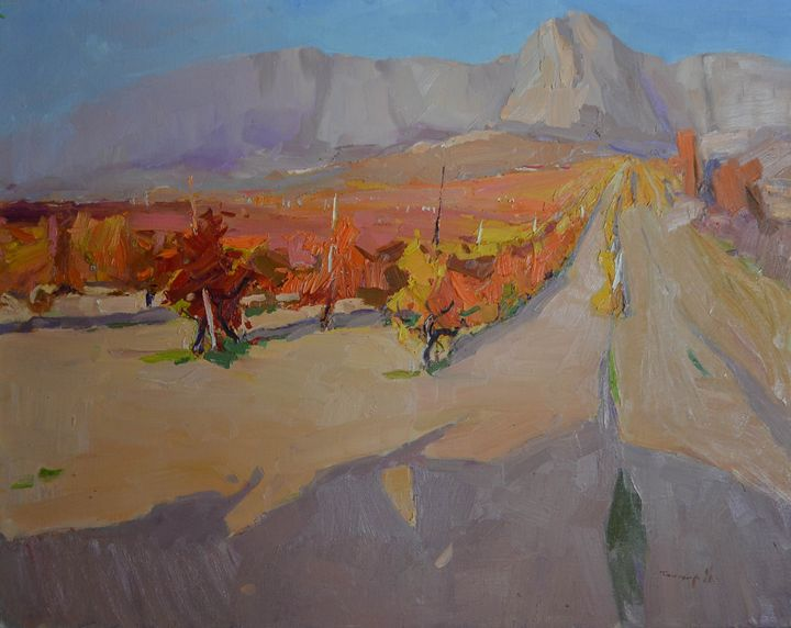 Crimean vineyards - Shandor Alexander