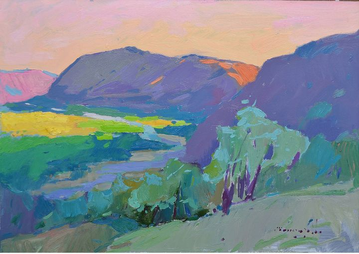 Evening in the valley - Shandor Alexander