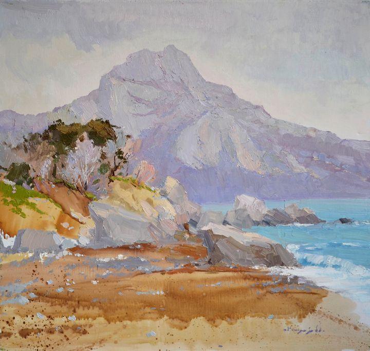 Batiliman_oil on canvas - Shandor Alexander