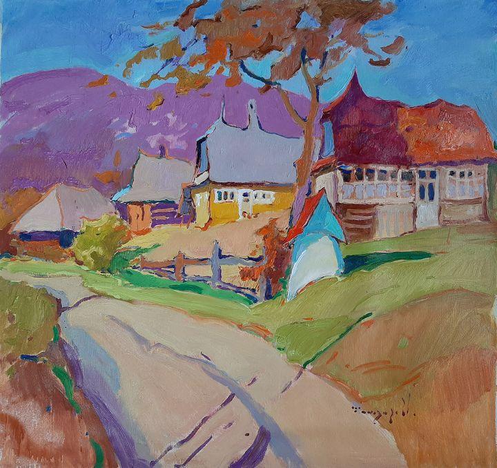 Autumn in the village of Rechka - Shandor Alexander