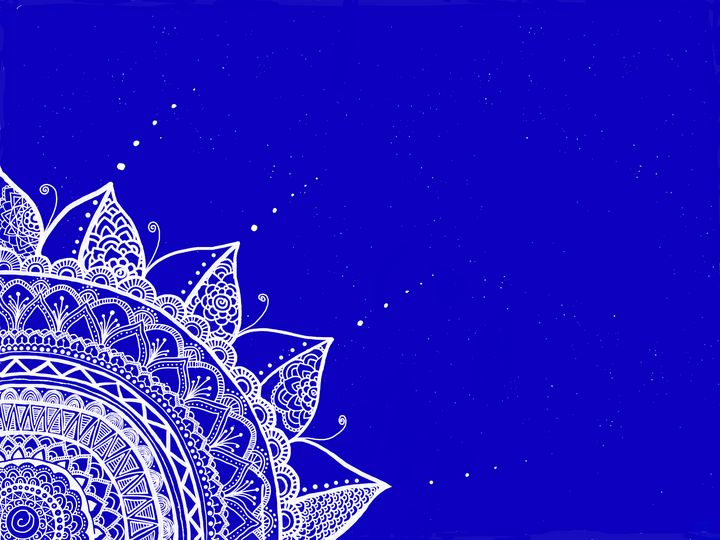 Blue - Tropical Art Dream
