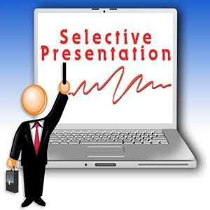 Selective Presentation Logo Design