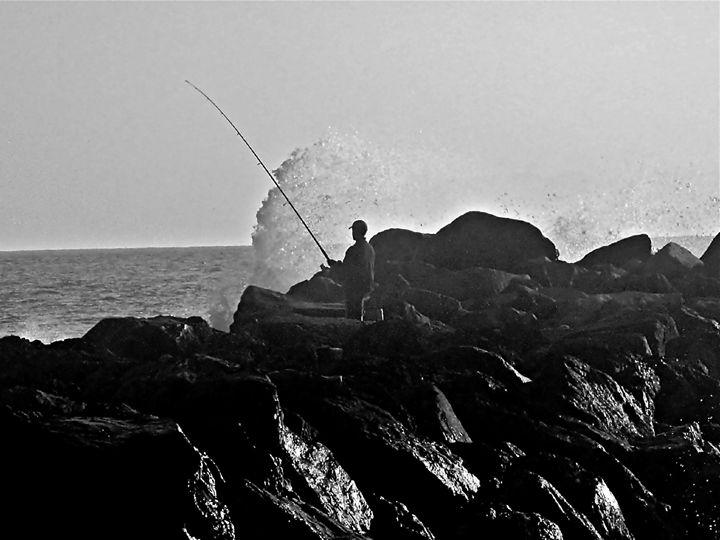 Channel Island Fisherman - jak tit 90201 Beverly Hills Original