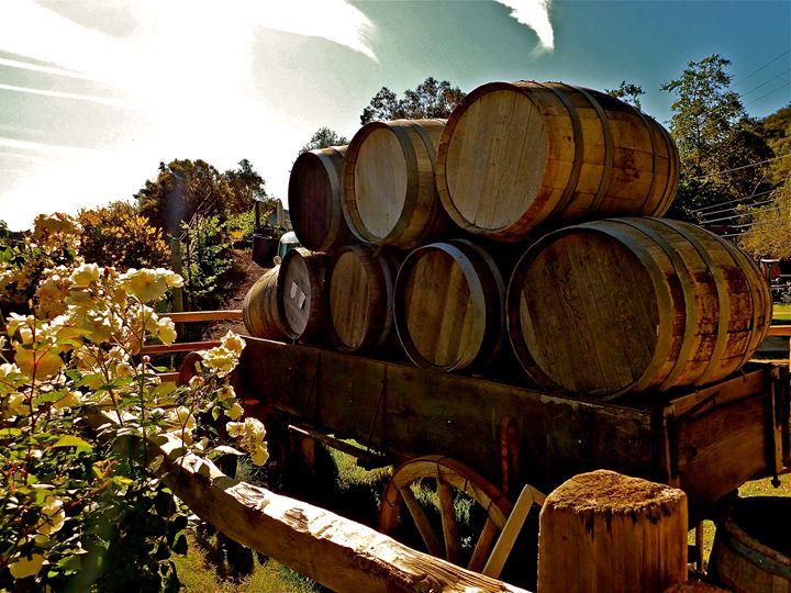 Malibu Winery Sunrise - jak tit 90201 Beverly Hills Original