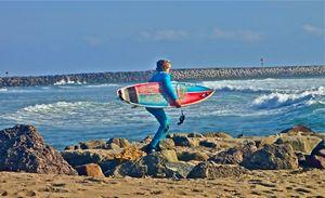 Surfing Boy - jak tit 90201 Beverly Hills Original