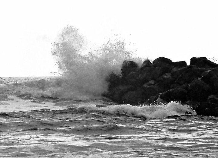Crashing Waves - Opie Original