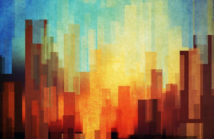 Urban sunset - DejaReve