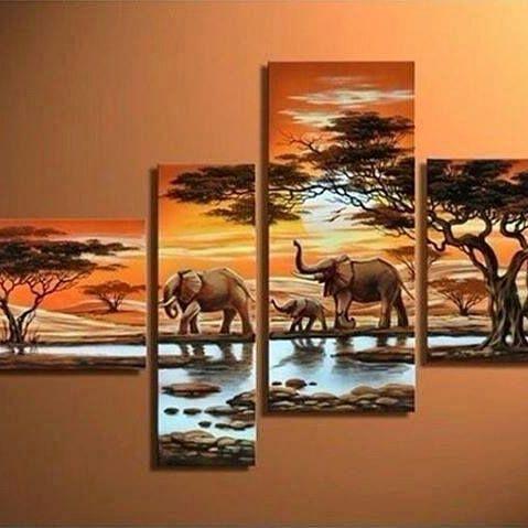 Maasai Mara Sunset Pieces - Stramaxstore
