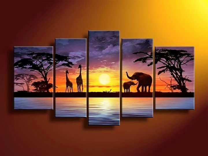 Sunset Wildlife Africa - Stramaxstore