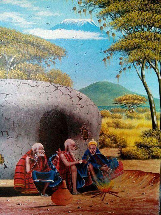 Maasai Elders - Stramaxstore