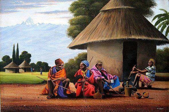 African Village Elders - Stramaxstore