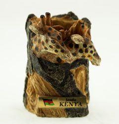 Giraffe Carved Penholder - Stramaxstore