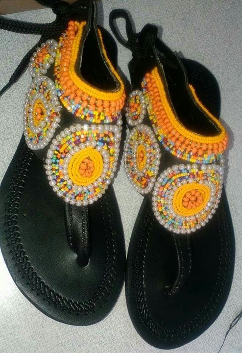 Maasai Inspired Sandals - Stramaxstore