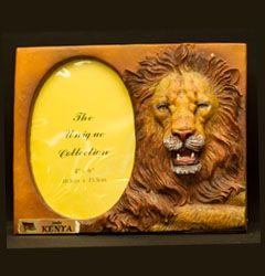 Lion Board Picture Frame