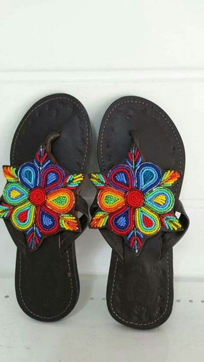 Maasai Women Beaded Sandals - Stramaxstore