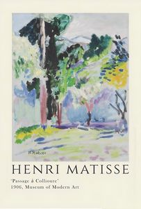 Matisse Exhibition Print