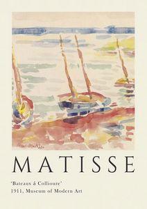 Matisse Boat Print