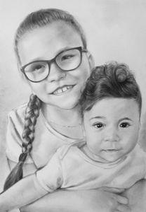 Portrait commission digital file